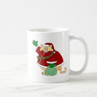 Santa Claws Kitty Coffee Mug