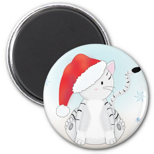 Santa Claws Refrigerator Magnets