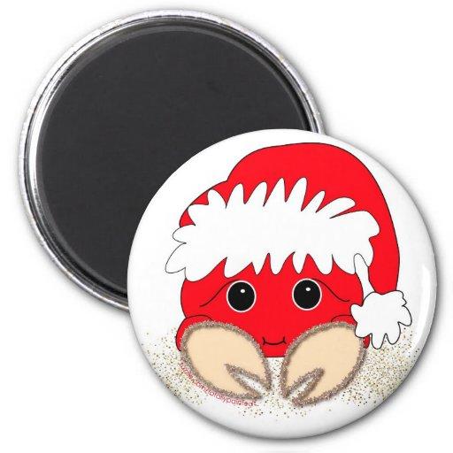 Santa Claws Magnet