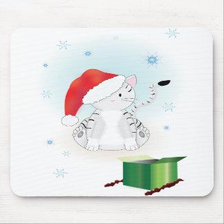 Santa Claws Mouse Pad