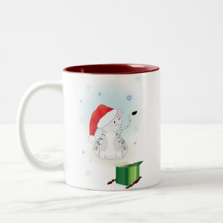 Santa Claws Coffee Mugs