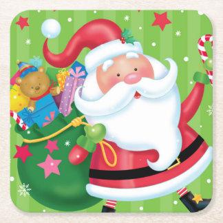 Santa Coaster