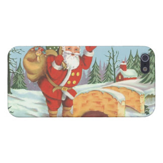 Santa comes to town iPhone 5 cases