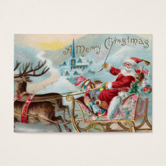 Santa Coming to Town Business Card