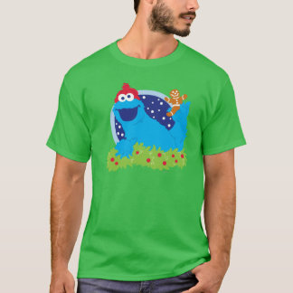 Santa Cookie Monster T-Shirt