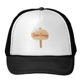 Santa Crossing Trucker Hat