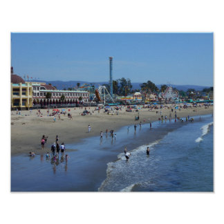 Santa Cruz Beach/Boardwalk Poster