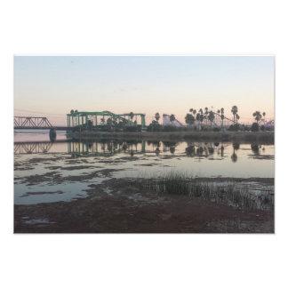 Santa Cruz Beach Boardwalk Sunset Photo Print
