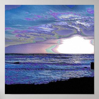 Santa Cruz Beach Print