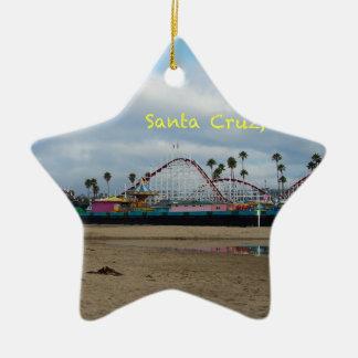 Santa Cruz California Christmas Ornament