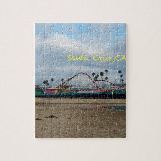 Santa Cruz California Jigsaw Puzzle
