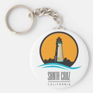 Santa Cruz California Lighthouse Key Ring