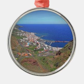Santa Cruz de La Palma Canary Islands Spain Christmas Ornament