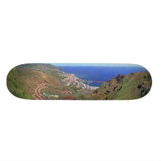 Santa Cruz de La Palma Canary Islands Spain 21.3 Cm Mini Skateboard Deck