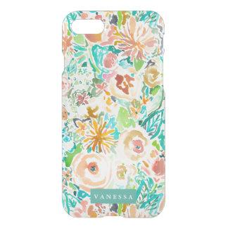SANTA CRUZ FLORAL Colorful Watercolor CUSTOMIZABLE iPhone 7 Case