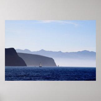 Santa Cruz Island Poster