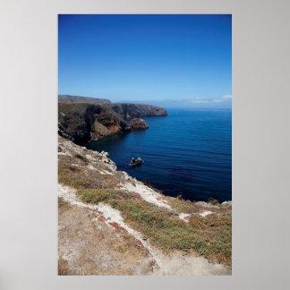 Santa Cruz Island Series 11 Poster