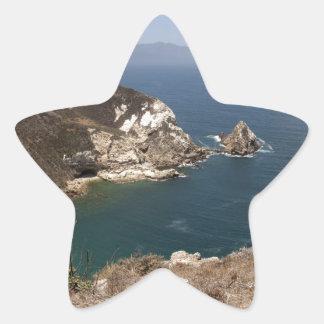Santa Cruz Island Series 8 Star Sticker