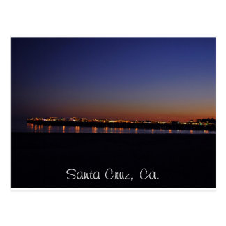 Santa Cruz postacrd Postcard