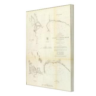 Santa Cruz, San Simeon, Coxo, San Luis Obispo Canvas Print