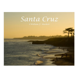 Santa Cruz Sunset California Products Postcard