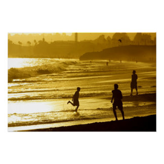 Santa Cruz Sunset Poster w/out Poetry