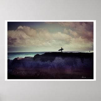 Santa Cruz - Surf Poster