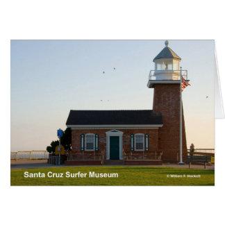 Santa Cruz Surfer Museum California Products Greeting Card