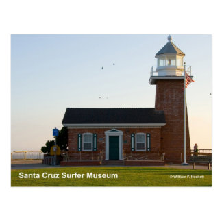 Santa Cruz Surfer Museum California Products Postcard