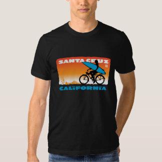 Santa Cruzing, California Orange Tshirts