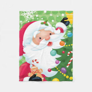 Santa Decorating Blanket