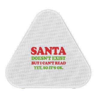 Santa doesn't exist -- Holiday Humor Bluetooth Speaker