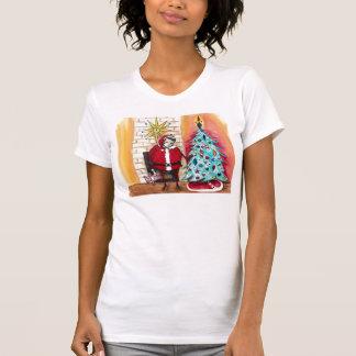 Santa Elvis T Shirt