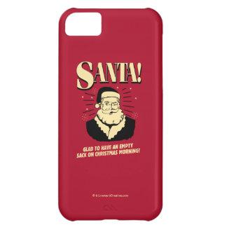 Santa: Empty Sack On Christmas Morning iPhone 5C Case