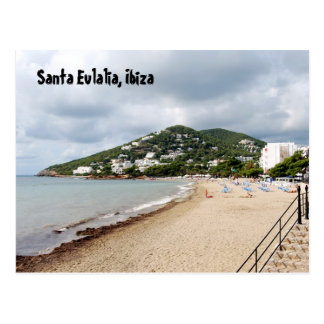 Santa Eulalia, Ibiza Postcard