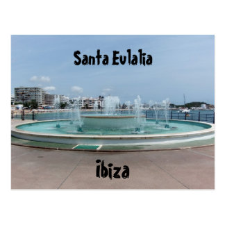 Santa Eulalia Ibiza Post Card
