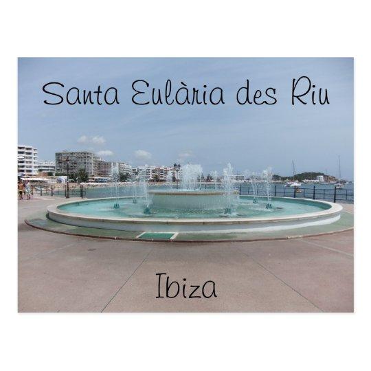 Santa Eularia Des Riu Postcard