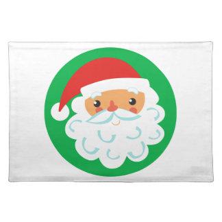 Santa Face Placemat