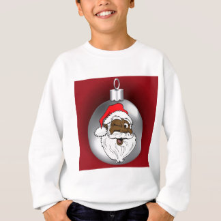 Santa Face Ornament 2 Sweatshirt