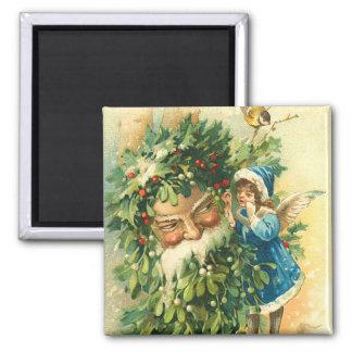 Santa & Faerie Magnet - Stocking Stuffer