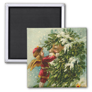 Santa & Faerie Magnet - Stocking Stuffer