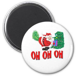 santa farted fridge magnets