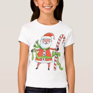 Santa - Father Christmas - T shirt for children