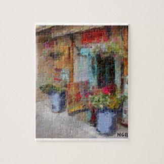 Santa Fe doorway. Jigsaw Puzzle