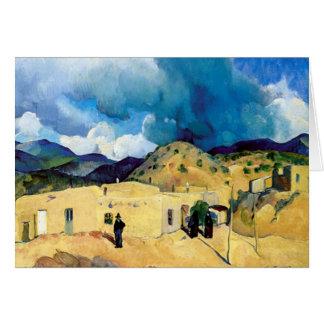 Santa Fe Hills Greeting Card