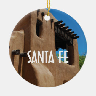 Santa Fe New Mexico Christmas Ornament
