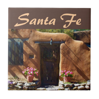 Santa Fe, New Mexico Small Square Tile