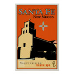 Santa Fe, New Mexico, USA Poster