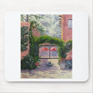 Santa Fe, NM oil painting by John French Mouse Pad