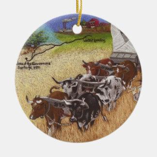 Santa Fe Trail Christmas Ornament